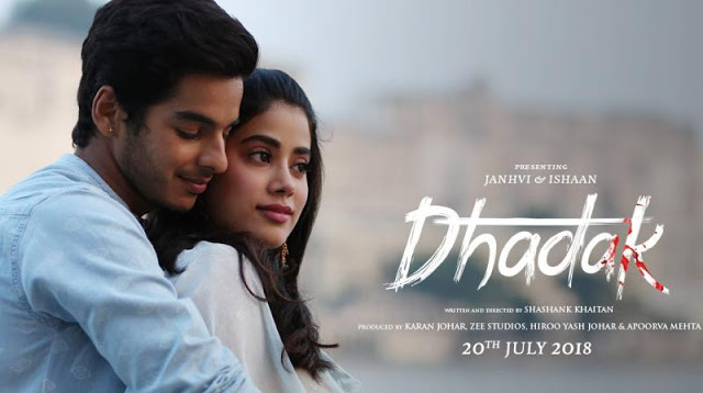 The First Trailer of Janhvi Kapoor's Debut Film Dhadak Is Out Now And Based On Epic Love Story