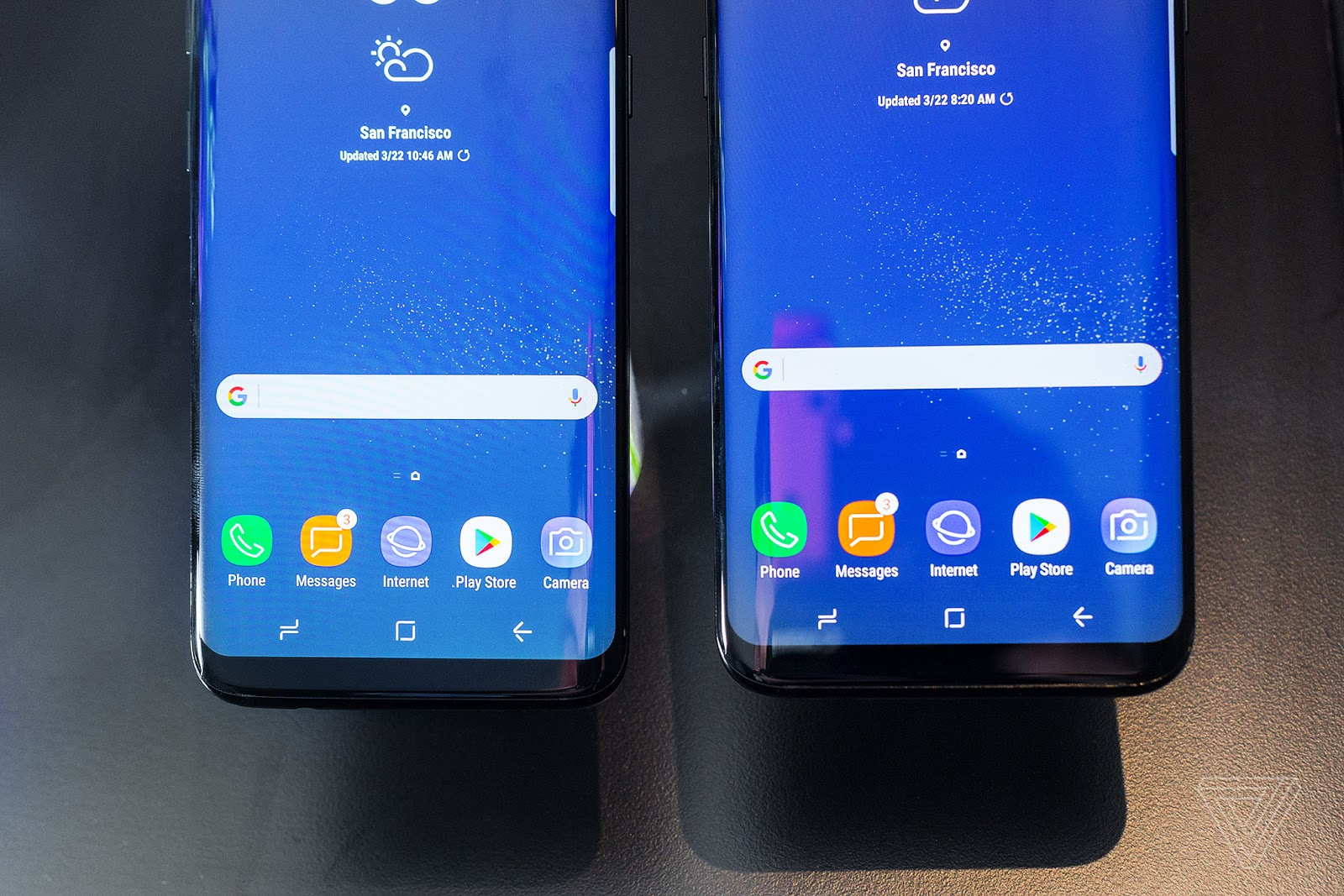 Samsung adds home screen rotation update to Galaxy S8, S8+ and Note 8
