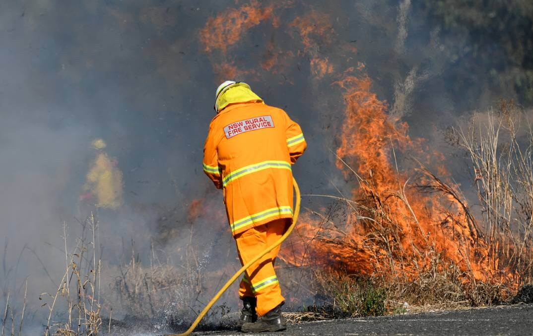 Grass Fire Devours 1440 Hectares At Pinkett, South East Of Glen Innes