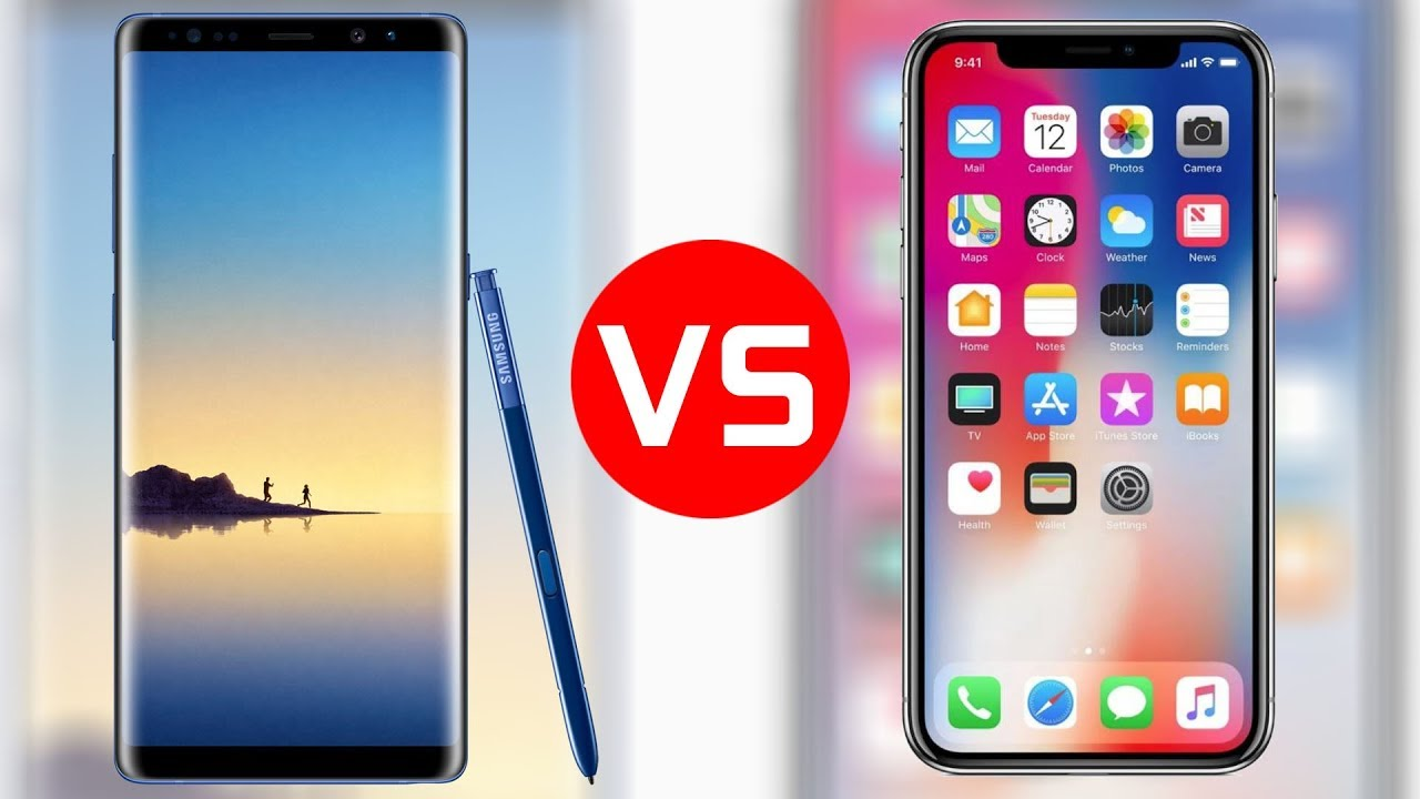 In 6 Ways Galaxy Note 9 Is Far Better Than  iPhone X