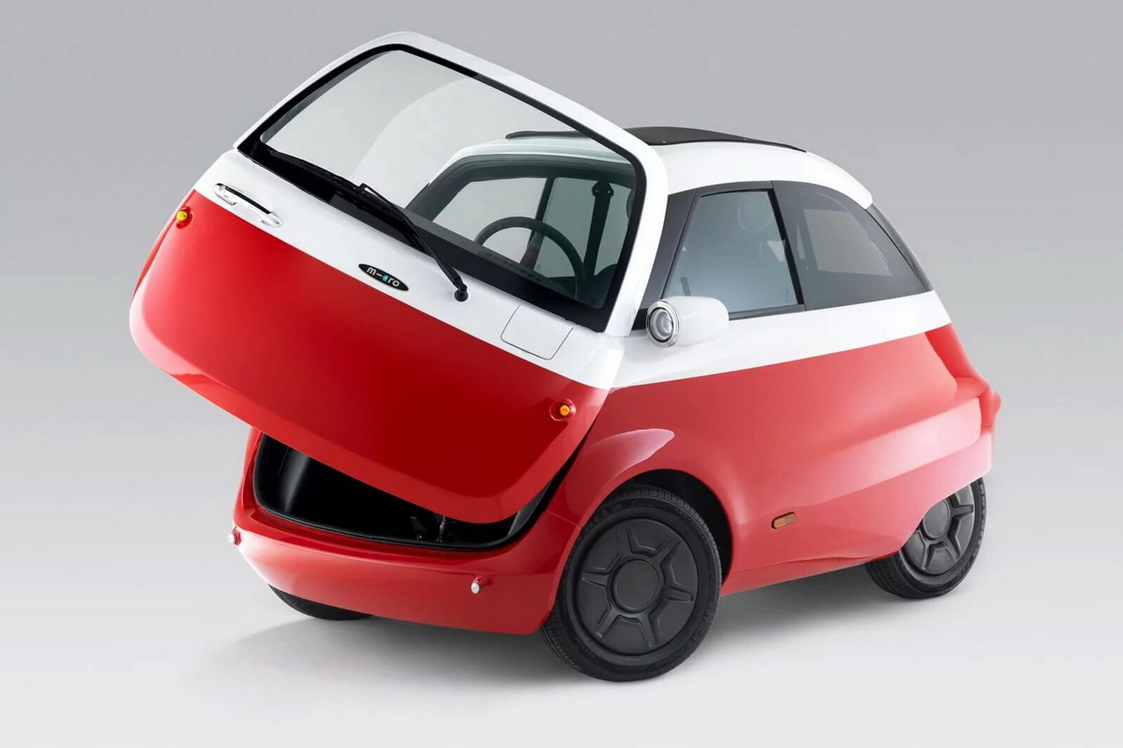 Present-Day Version Of The BMW Isetta Bubble Car Goes Into Production With Electric Powertrain