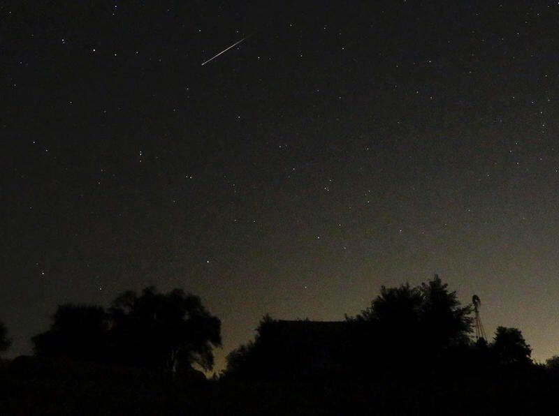 Meteor Shower Viewing Event  Taking Place In Sugar Grove