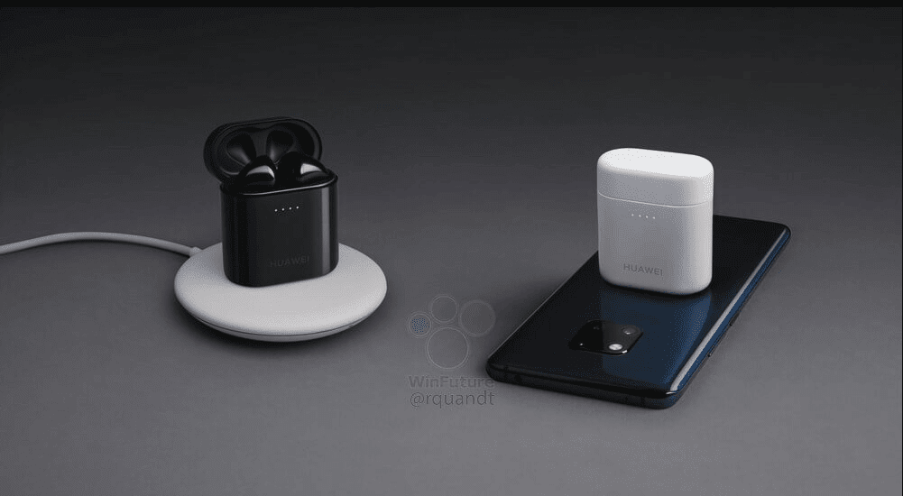 Leaked Pics OF Huawei's New Earbuds Will Come With Wireless Charging