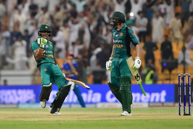 Asia Cup: Pakistan Beat Afghanistan In Nail-Biting Encounter