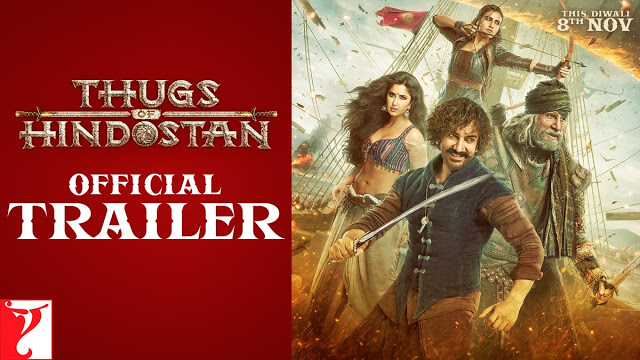 Bollywood: 'Thugs of Hindostan' Official Trailer Out Now