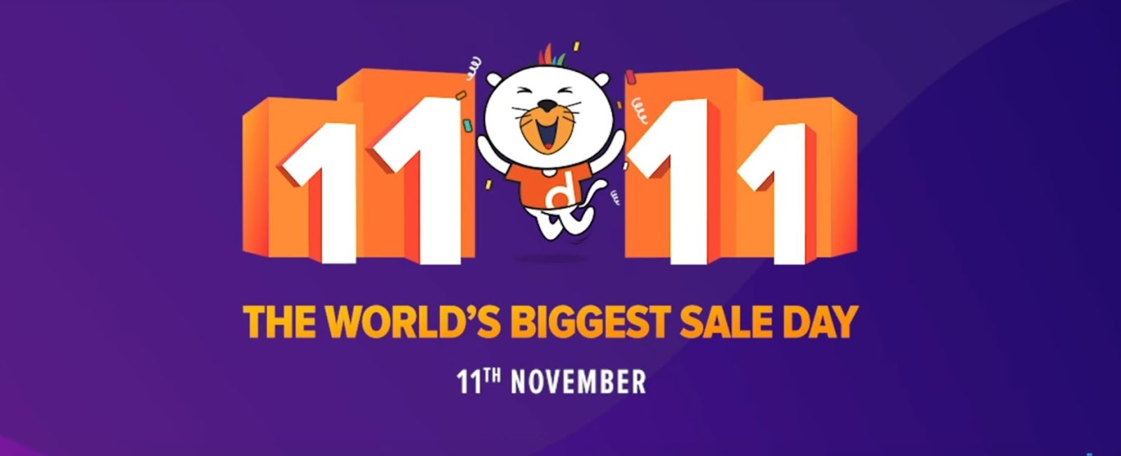 Daraz Announces 11.11, World's Biggest Sale Day,Coming To Pakistan For The First Time On November 11th