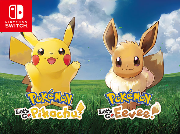 Pokémon: Let's Go, Pikachu/Eevee Showcases Train And Battle, And More