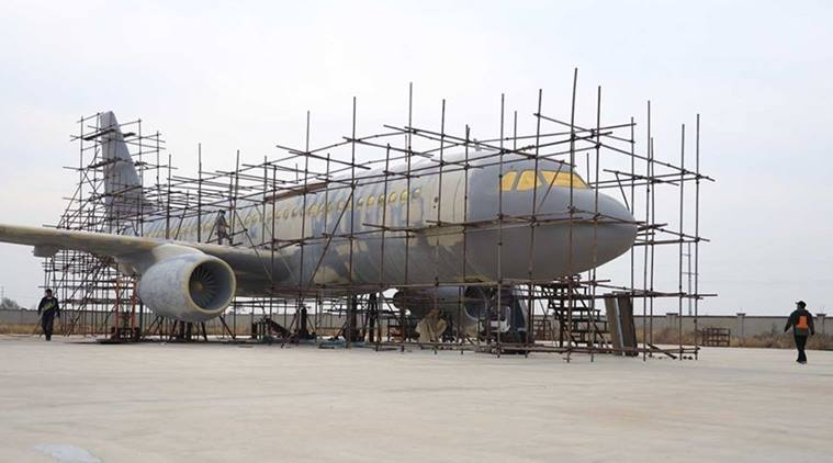 Chinese Man managed to build the life size replica of an Airbus A320