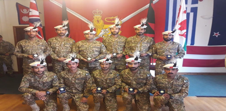 Pakistan Army Wins Gold Medal In Cambrian Patrol Competition