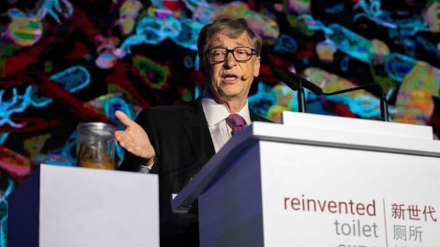 Bill Gates Brandishes Jar Of Poo, Talks About His 'Reinvented' Toilet Tech