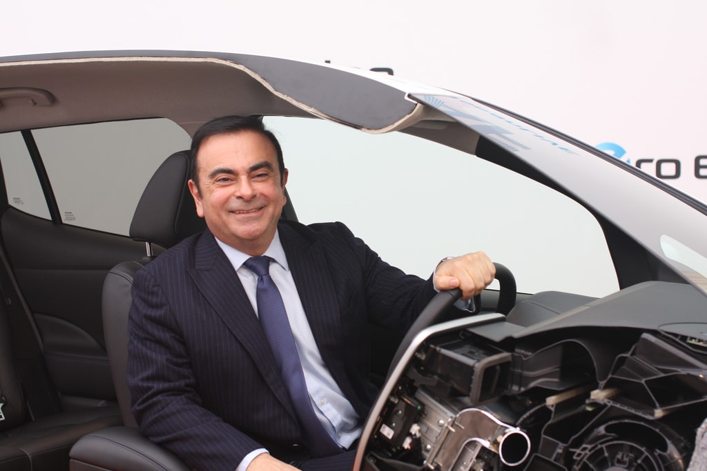 Ex-Nissan Boss 'Carlos Ghosn' Denies Nissan Misconduct Claims