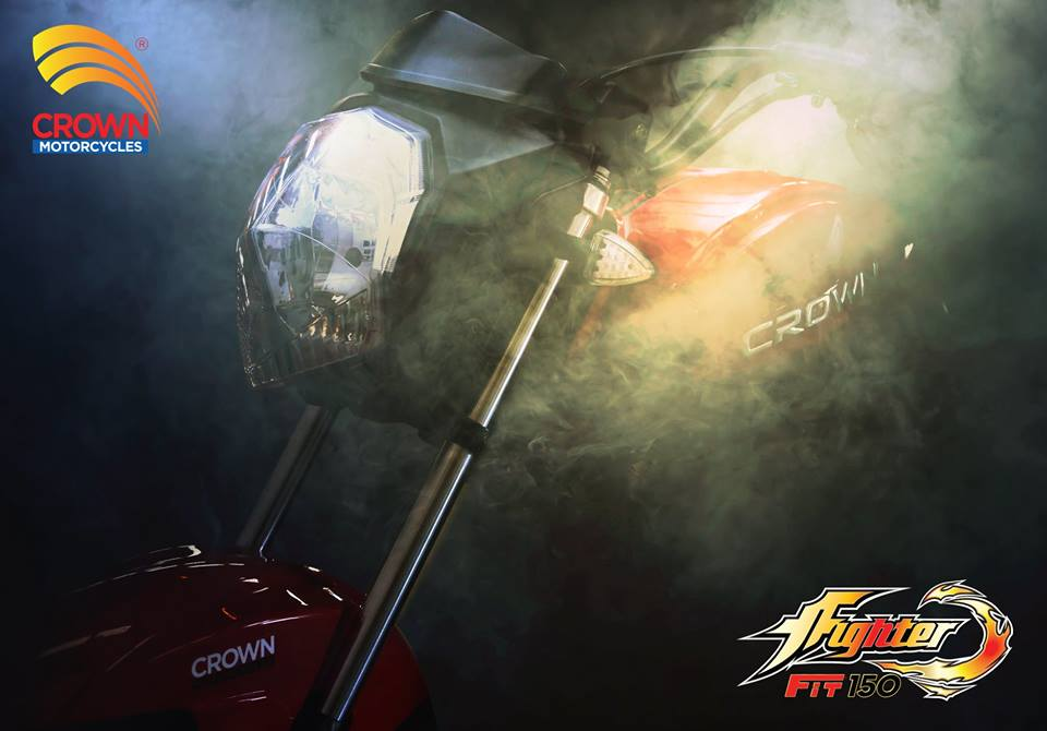 All-New Crown Fighter 150cc Bike To Be Launch By Crown Motors