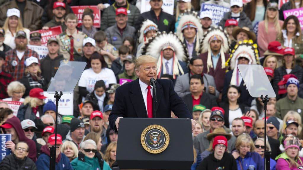 US Midterm Elections 2018 | DONALD Trump Is Accused OF Campaigning In Areas Where He Will Receive A Warm Welcome