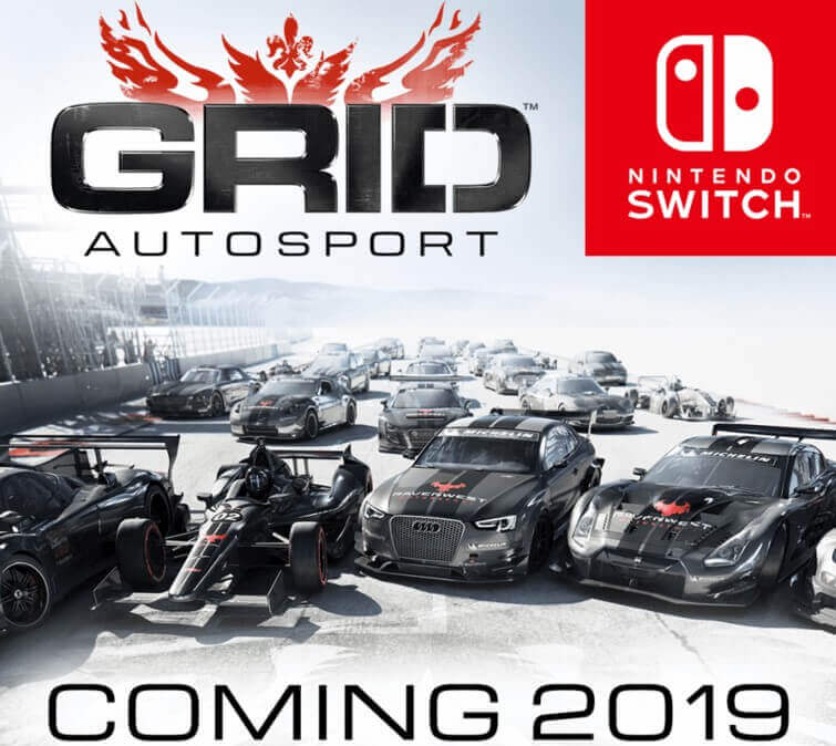 GRID Autosport Will Release For Nintendo Switch In 2019