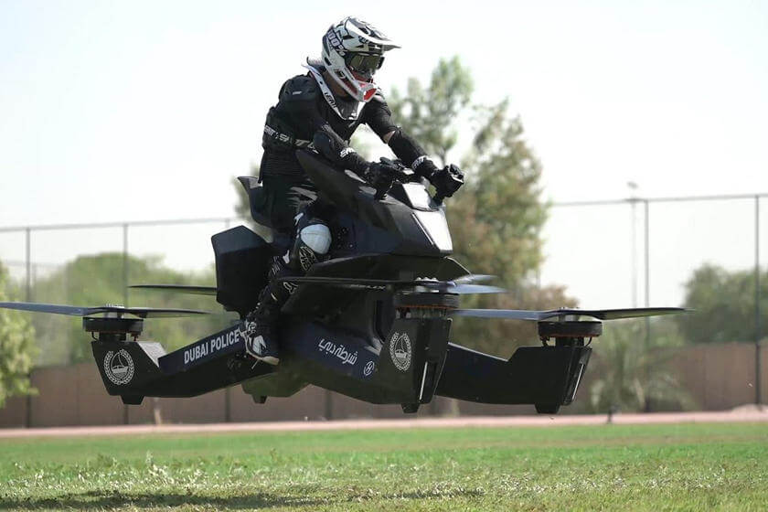 Dubai Revolutionize Police Force To Use 'Hoverbikes' To Patrol City From 2020