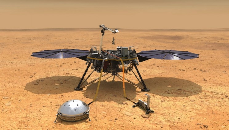 NASA's InSight Spacecraft Lands Successfully On Red Planet