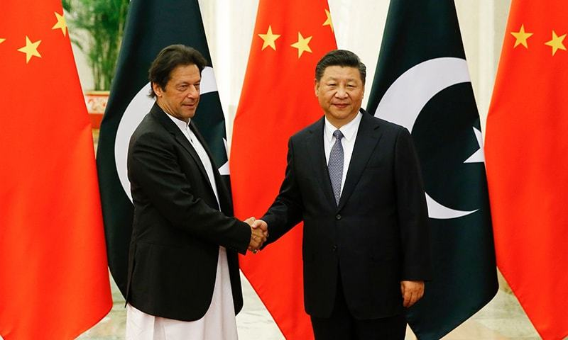 Prime Minister Imran Khan Meets Chinese President Xi In Beijing