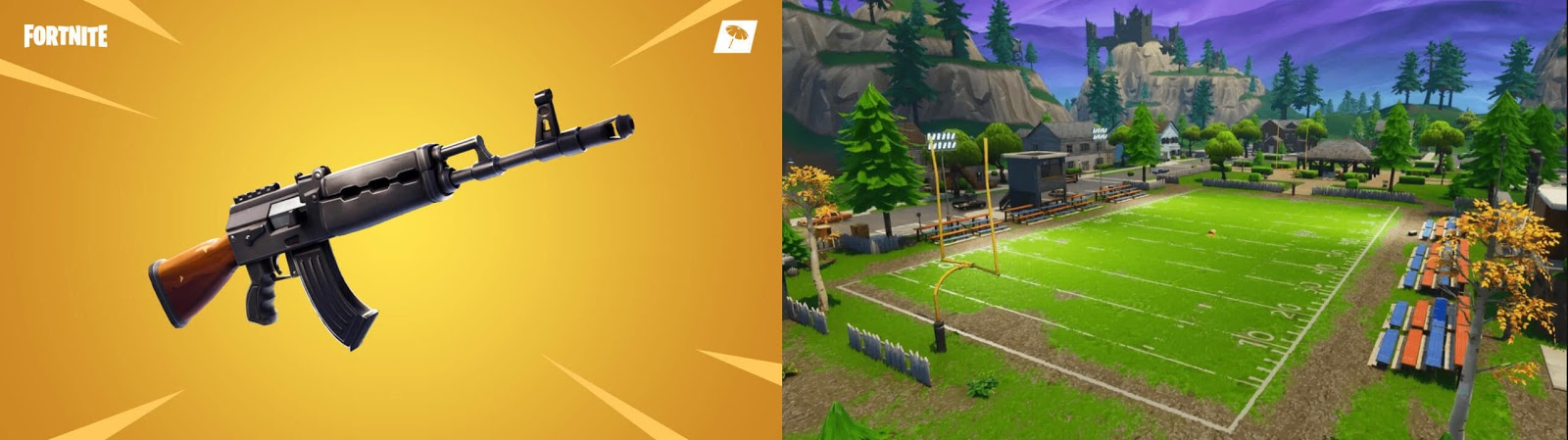 'FORTNITE' UPDATE 6.22 Heavy AR, Blitz And Football Stadium Patch Notes