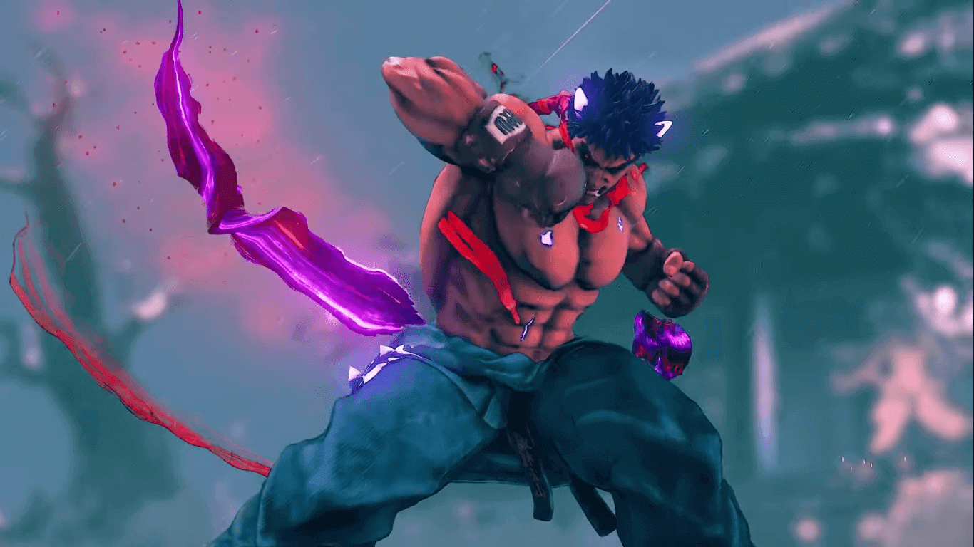 Street Fighter V Arcade Edition New DLC Character Kage Out Now