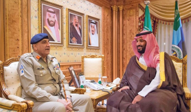 Army Chief And Saudi Prince Discuss Regional Security