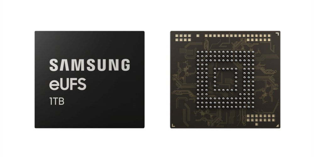 Samsung Breaks Terabyte Threshold for Smartphone Storage with Industry's First 1TB Embedded Universal Flash Storage