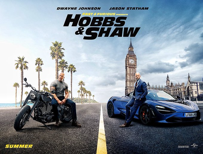 'Fast & Furious Presents: Hobbs & Shaw' Official Trailer Release