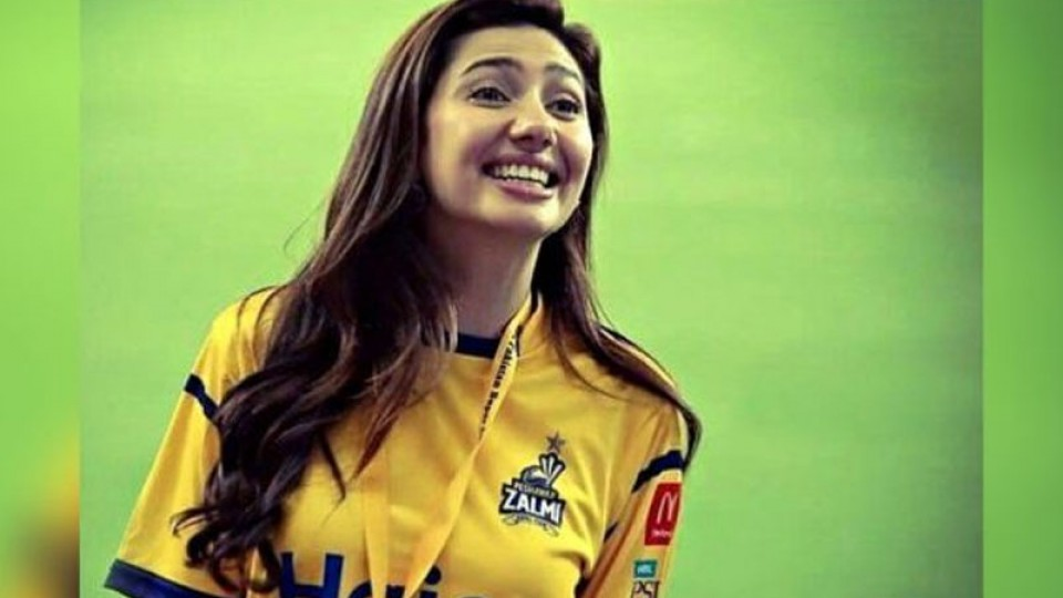Mahira Khan Again Appointed as Peshawar Zalmi's Brand Ambassador