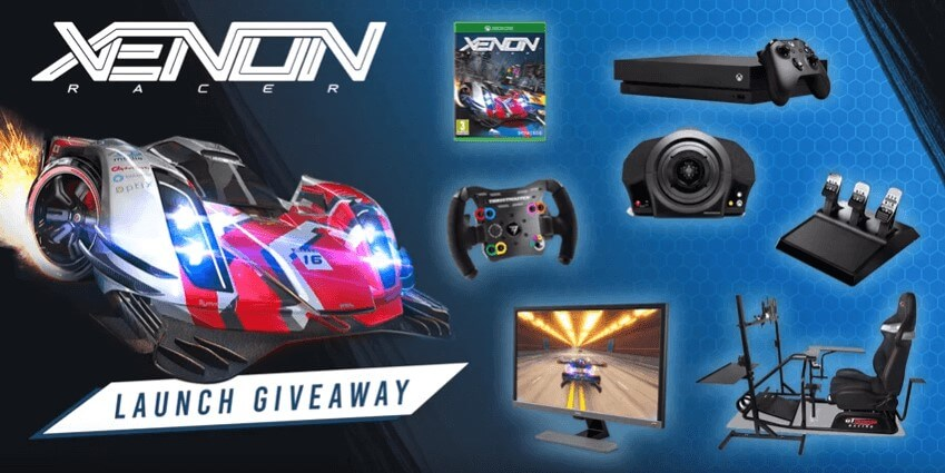 Win A Fully Equipped Racing Cockpit In Launch Giveaway Xenon Racer