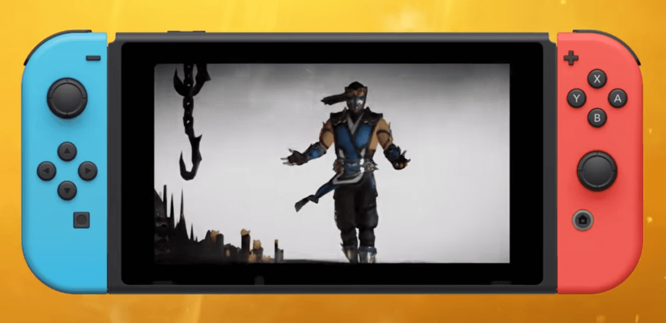 Mortal Kombat 11 Official Nintendo Switch Gameplay Reveal : Shows Fights On The Go