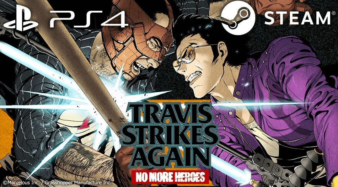Travis Strikes Again: No More Heroes Coming To PlayStation 4 And Steam