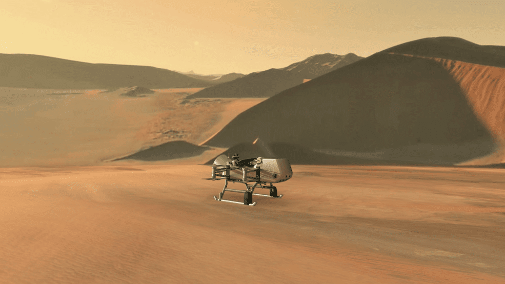 NASA's New Mission To Send Dragonfly Drone To Search For Life On Saturn's Moon Titan