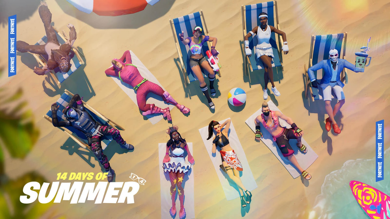 Fortnite: The Fun Continues With The Second Week OF 14 Days of Summer!