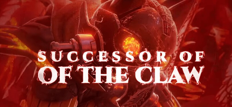 Code Vein Successor Of The Claw Boss Trailer