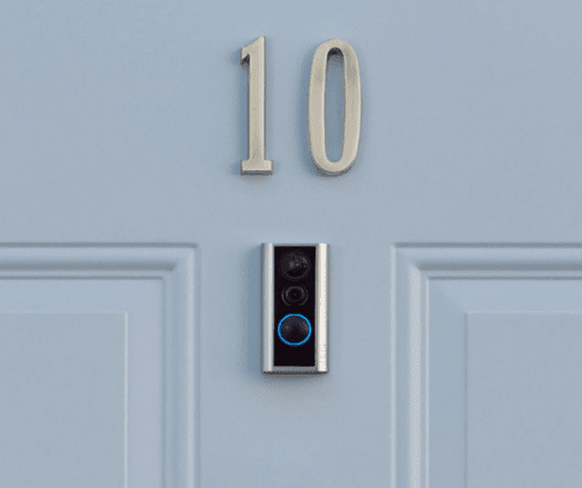 "Surveil Your Yard With Ring Latest Video Doorbell ""Peephole Cam"""